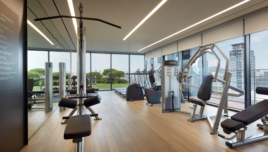 <br>Fitness Center<br><p>Fitness Center View </p>